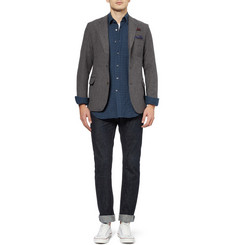 Oliver Spencer Portland Slim-Fit Wool Blazer