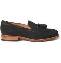 Oliver Spencer Suede Tasselled Loafers