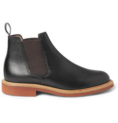 Oliver Spencer Full Grain Leather Chelsea Boots