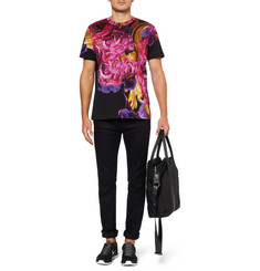 Katie Eary Flower Printed Cotton-Jersey T-Shirt