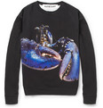 Katie Eary - Lobster-Print Fleece-Back Cotton Sweatshirt