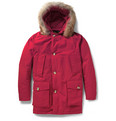 Woolrich Byrd Cloth Arctic Parka Coyote-Trimmed Coat