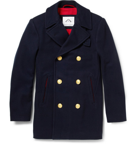 Ovadia & Sons Wool-Blend Peacoat