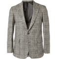 Ovadia & Sons Patterned Woven-Wool Blazer