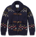 Ovadia & Sons - Patterned Chunky-Knit Wool Sweater