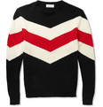Ovadia & Sons - Striped Knitted Cotton Sweater