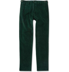Ovadia & Sons Tapered Cotton-Corduroy Trousers