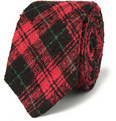 Ovadia & Sons - Plaid Slub Silk Tie