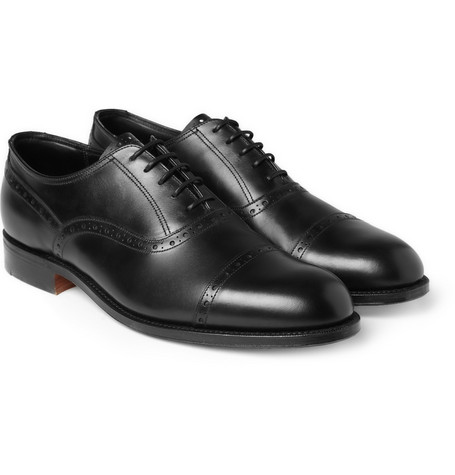 Grenson G-One Chancery Leather Brogues