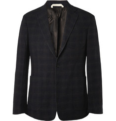Billy Reid Rustin Slim-Fit Plaid Wool-Blend Blazer