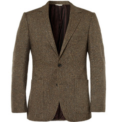 Billy Reid Heirloom Slim-Fit Herringbone Wool-Tweed Blazer