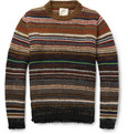 Billy Reid Striped Chunky-Knit Sweater