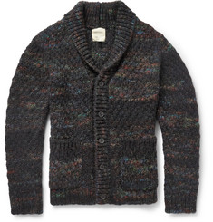 Billy Reid Chunky-Knit Merino Wool-Blend Cardigan