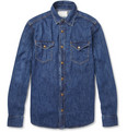 Billy Reid - Washed-Denim Shirt