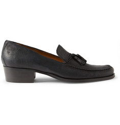 Billy Reid Escambia Tasseled Suede Loafers