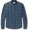 Simon Miller - Check-Print Washed Cotton-Twill Shirt