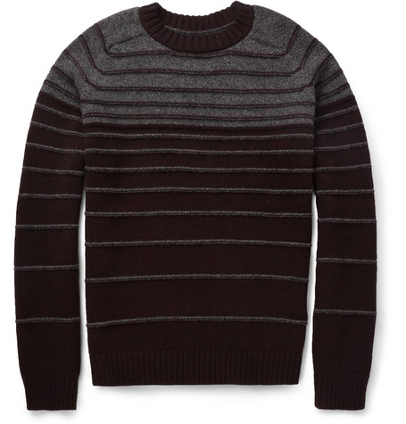 Simon Miller Striped Merino Wool Sweater