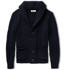 Simon Miller Shawl-Collar Knitted-Cashmere Cardigan