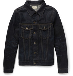Simon Miller Norwood Slim-Fit Overdyed Denim Jacket
