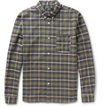 A.P.C. - Plaid Cotton-Flannel Shirt