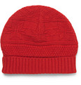 A.P.C. Patterned Merino Wool Beanie Hat