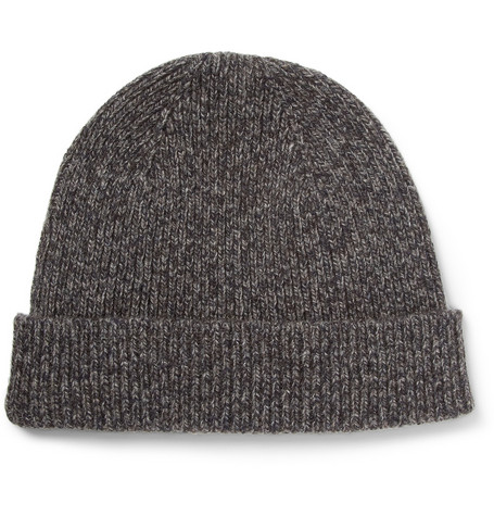 A.P.C. Wool and Yak-Blend Beanie Hat