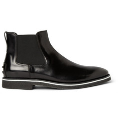Tod's No_Code Crepe-Sole Leather Chelsea Boots