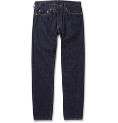 Levi's Vintage Clothing 1954 501 Red Selvedge Rinsed Denim Jeans