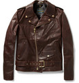 Schott - Perfecto Vintage Oiled-Leather Motorcycle Jacket