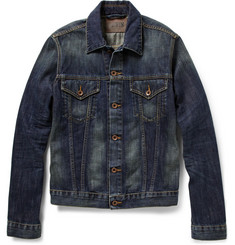 Edwin Buddy Washed-Denim Jacket