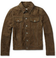 Edwin - Rider Slim-Fit Suede Jacket