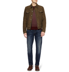 Edwin Rider Slim-Fit Suede Jacket