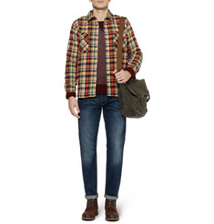 Edwin Loggerhead Check Cotton-Flannel Shirt