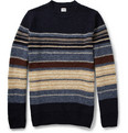 Edwin - Docker Striped Wool-Blend Sweater