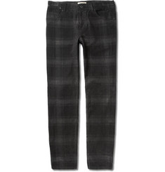 YMC Plaid Corduroy Trousers