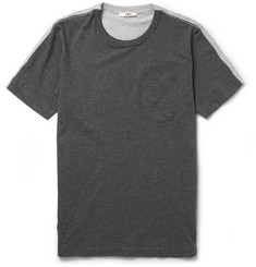 YMC Contrast-Back Cotton-Jersey T-Shirt