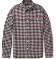 Bespoken - Check Cotton-Flannel Shirt