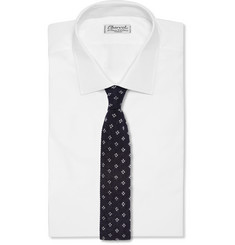 J.Crew Patterned Knitted-Cotton Tie