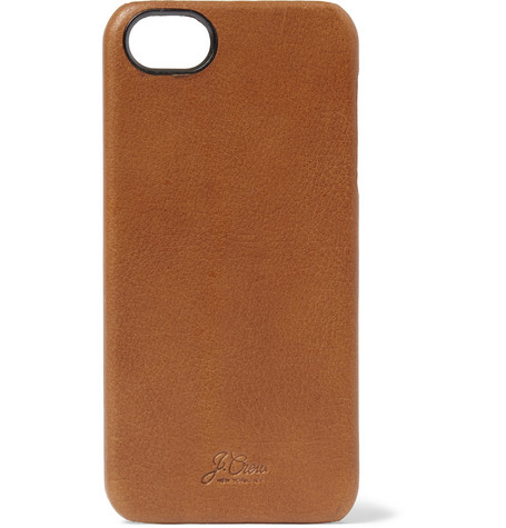 J.Crew Leather iPhone 5 Case