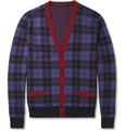 Marc by Marc Jacobs - Aimee Check Wool Cardigan
