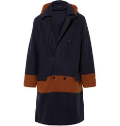 Marc by Marc Jacobs Sam Hooded Wool Coat