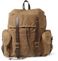 J.Crew - Abingdon Waxed Cotton-Canvas and Leather Backpack