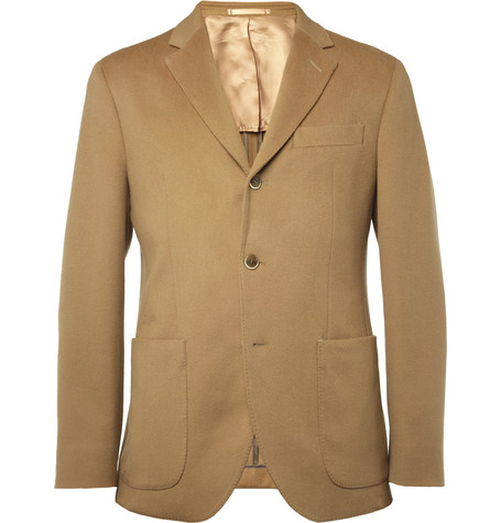 Hackett Slim-Fit Doeskin Wool Blazer