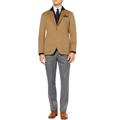 Hackett Regular-Fit Wool-Flannel Trousers