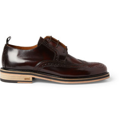 AMI High-Shine Leather Brogues