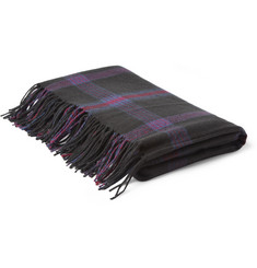 Marc by Marc Jacobs Check Wool Blanket
