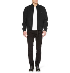 London Collections. Men Christopher Raeburn Wool-Blend Bomber Jacket