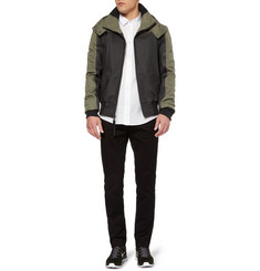 London Collections. Men Christopher Raeburn Remade Panelled Bomber Jacket