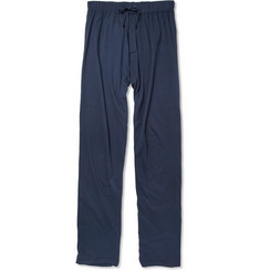 Schiesser Konrad Cotton-Jersey Pyjama Bottoms