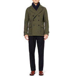 Hardy Amies Wool Peacoat
